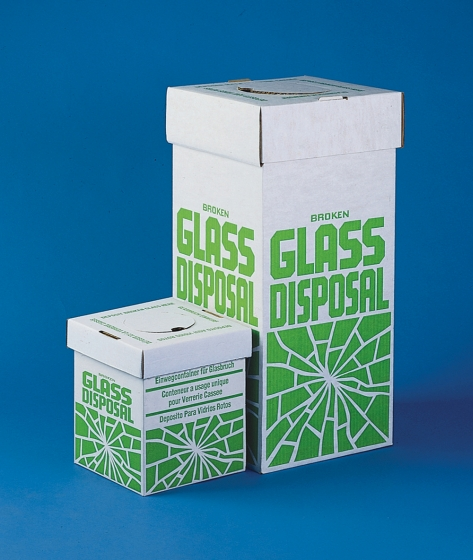 Entsorgungsboxen für Bruchglas