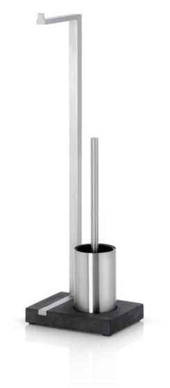 Toilettenbutler,HxBxT 635x150x200mm,f. 1 Rolle(n),Gehäuse Edelstahl matt