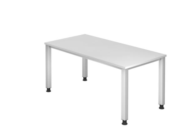 Schreibtisch, mit 4-Fußgestell, HxT 685-810x800 mm