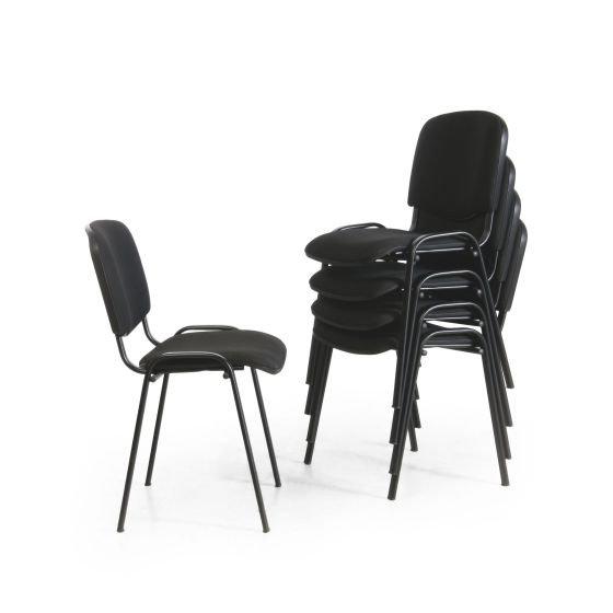 Konferenzstuhl, schwarz
