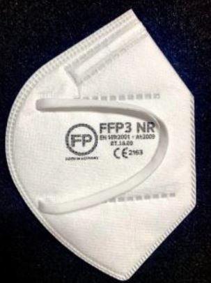 CE-zertifizierte FFP3 Schutzmasken, Box = 30 Stück