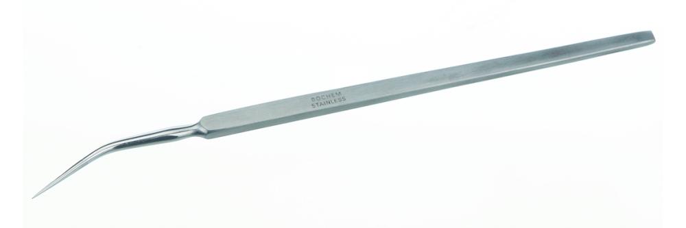 Präpariernadel - Präpariernadel 140mm 18/10 Stahl Typ 2 geboge