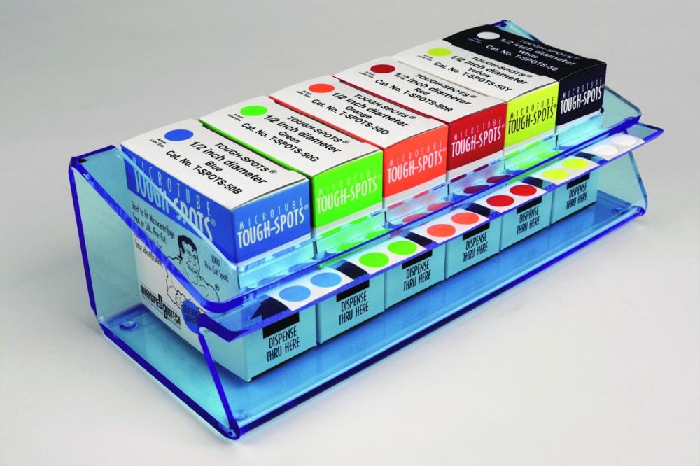 Tough-Tags® Station blau 280x120x89mm - Tough-Tags® Station blau 280x120x89mm