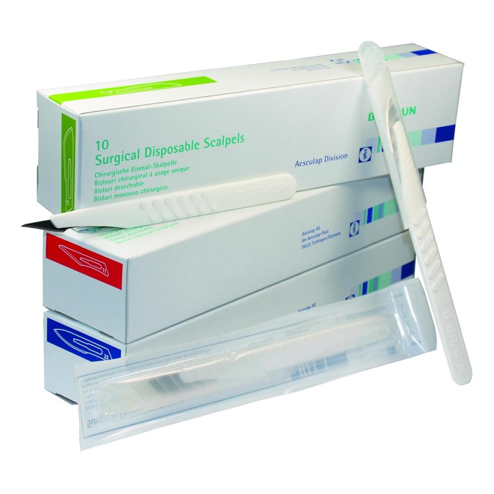 Einmal-Skalpelle Fig. Cutfix® steril VE=10 - 1