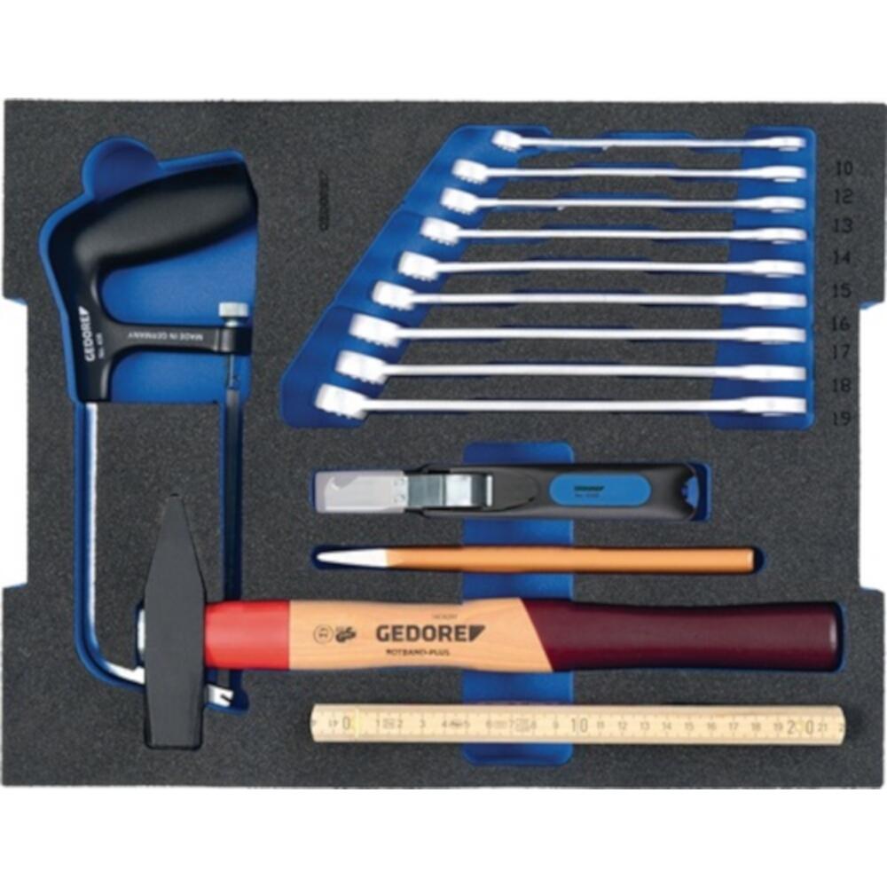 Gedore Werkzeugsortiment 23 teilig Azubi Sortiment in L-Boxx - Gedore Werkzeugsortiment 23 teilig Azubi Sortiment in L-Boxx