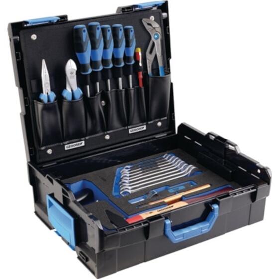 Gedore Werkzeugsortiment 23 teilig Azubi Sortiment in L-Boxx